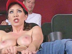 Brazzers Dude Fucks Stepmom In The Porn Theater Porn 89