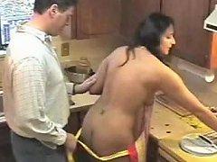 Kitchen Creampie